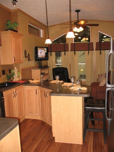 This feels way too spacious for a park model home click for Cost to build a house in virginia